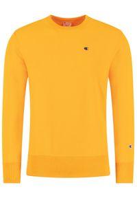 Champion Bluza Crewneck 214676 Pomarańczowy Custom Fit. Kolor: pomarańczowy