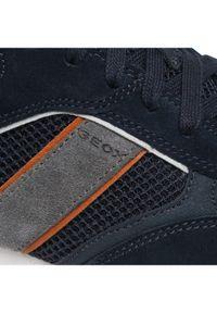 Geox Sneakersy U Fidenza D U15BND 02214 CF47R Granatowy. Kolor: niebieski