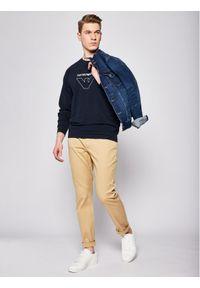 Emporio Armani Underwear Bluza 111062 0P575 00135 Granatowy Regular Fit. Kolor: niebieski