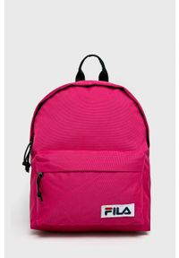 Fila - FILA - Plecak 685043. Kolor: różowy. Wzór: paski