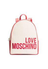 Walizka Love Moschino z haftami