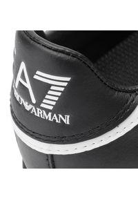 Czarne półbuty EA7 Emporio Armani z cholewką #7