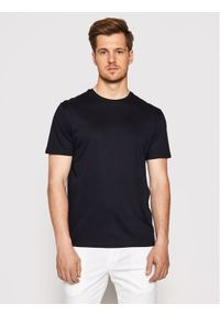 Baldessarini T-Shirt B4 20006/000/5015 Granatowy Regular Fit. Kolor: niebieski