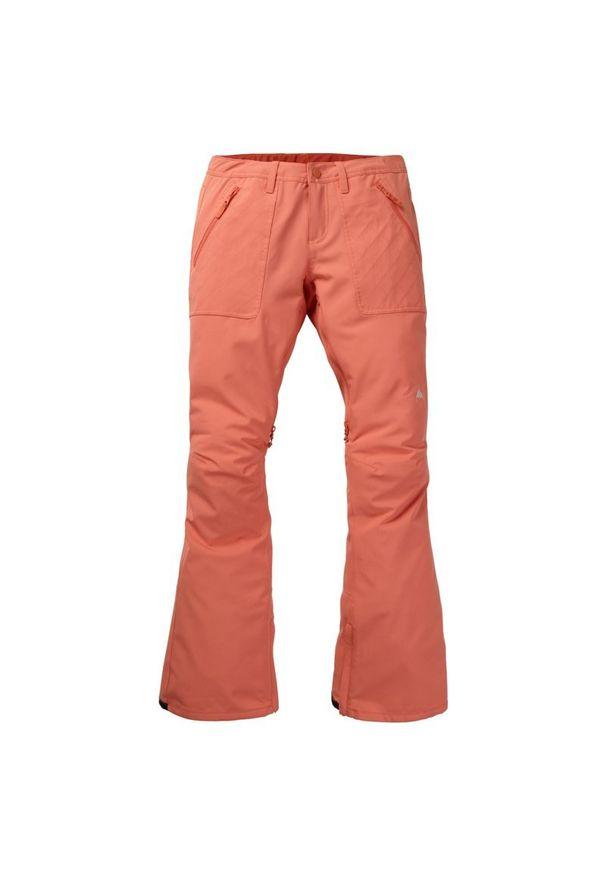 Pomarańczowe spodnie narciarskie Burton