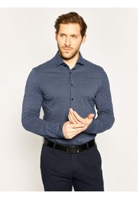 Baldessarini Koszula Keith M 41237/000/40019 Granatowy Regular Fit. Kolor: niebieski