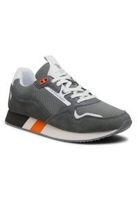 U.S. Polo Assn - Sneakersy U.S. POLO ASSN. - Lewis LEWIS4143S1/HM1 Grey. Okazja: na spacer, na co dzień. Kolor: szary. Materiał: skóra, zamsz, materiał. Szerokość cholewki: normalna. Styl: sportowy, casual