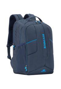 Niebieski plecak na laptopa RIVACASE