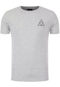 HUF T-Shirt Essentials Tt TS00509 Szary Regular Fit. Kolor: szary