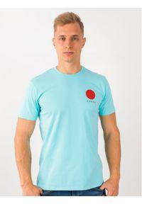 Niebieski t-shirt Edwin