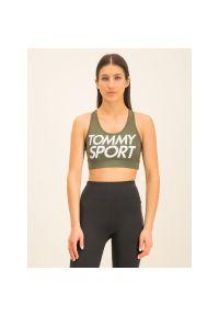 Zielony biustonosz sportowy Tommy Sport