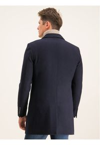 Niebieski płaszcz przejściowy Digel
