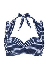 Cellbes Biustonosz od bikini w paski niebieski w paski female niebieski/ze wzorem 105B. Kolor: niebieski. Wzór: paski