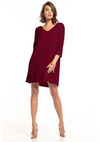 Czerwona sukienka wizytowa Tessita mini