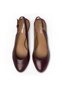 Fioletowe sandały Gino Rossi
