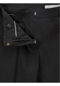 BOSS - Boss Spodnie materiałowe Tamea 50291873 Czarny Regular Fit. Kolor: czarny. Materiał: materiał