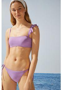 Women Secret - Figi kąpielowe. Kolor: fioletowy. Materiał: dzianina