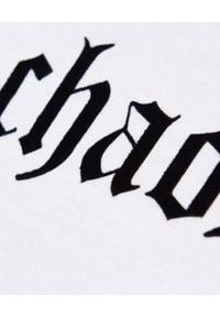 CHAOS BY MARTA BOLIGLOVA - Bawełniany top bez rękawów Gothic. Kolor: biały. Materiał: bawełna. Długość rękawa: bez rękawów. Wzór: nadruk, aplikacja