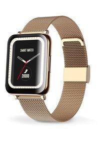 Aligator smartwatch Watch Life Gold. Rodzaj zegarka: smartwatch. Kolor: złoty
