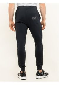 Niebieskie spodnie dresowe EA7 Emporio Armani