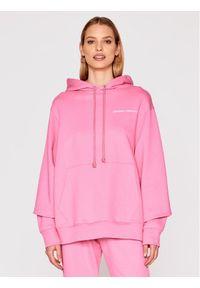 Imperial Bluza FB91BAYSTI Różowy Relaxed Fit. Kolor: różowy