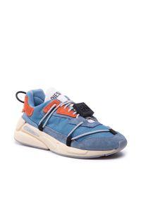 Diesel Sneakersy S-Serendipity Lace Y02546 P4197 H8744 Niebieski. Kolor: niebieski