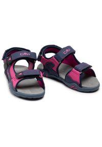 CMP Sandały Kids Alphard Hiking Sandal 39Q9614 Granatowy. Kolor: niebieski