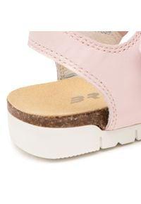 Bartek - Sandały BARTEK - 16183023 NOXS Różowy. Kolor: różowy. Materiał: skóra ekologiczna. Wzór: aplikacja