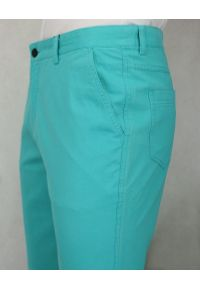 Turkusowe spodnie Ezreal na co dzień, casualowe