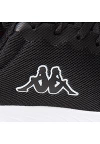Kappa - Sneakersy KAPPA - Ces Nc 242685NC Black/White 1110. Okazja: na co dzień. Kolor: czarny. Materiał: materiał. Szerokość cholewki: normalna. Sezon: lato. Styl: casual #3