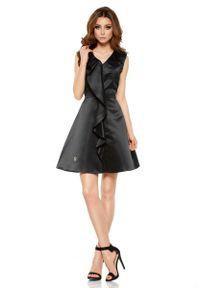 Czarna sukienka na wesele Lemoniade