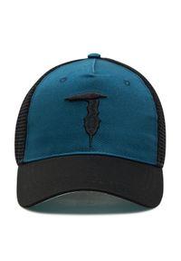 Trussardi Jeans - Czapka z daszkiem TRUSSARDI - Baseball Hat Mesh Levriero Embroidery 57Z00164 Blue Navy/Black/Artic U705. Kolor: czarny, wielokolorowy, niebieski. Materiał: materiał, bawełna, poliester