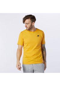 T-shirt New Balance krótki, z krótkim rękawem, casualowy, na co dzień