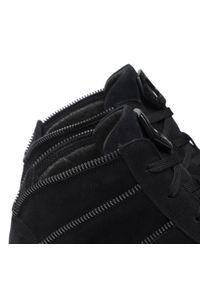 Rage Age - Sneakersy RAGE AGE - RA-16-04-000230 801. Okazja: na spacer, na co dzień. Kolor: czarny. Materiał: skóra, zamsz. Szerokość cholewki: normalna. Styl: sportowy, casual