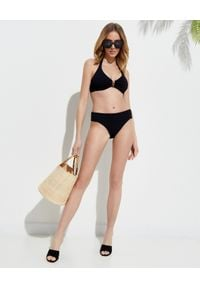 Melissa Odabash - MELISSA ODABASH - Czarny dół od bikini Provence. Kolor: czarny. Materiał: tkanina