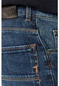 Niebieskie jeansy Trussardi Jeans na co dzień, casualowe