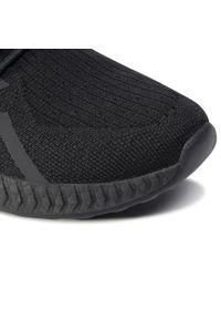 Czarne buty do fitnessu Sprandi z cholewką, na płaskiej podeszwie
