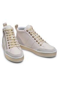 Geox Sneakersy D Leelu' G D94FFG 08522 C1000 Biały. Kolor: biały