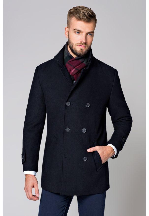 Niebieski płaszcz Lancerto