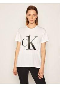 Biały t-shirt Calvin Klein Underwear
