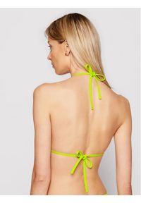 Zielone góra bikini Armani Exchange