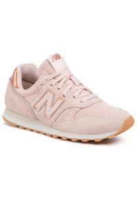 Różowe buty sportowe New Balance New Balance 373, z cholewką