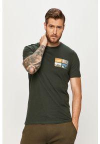 T-shirt Jack & Jones z nadrukiem, z okrągłym kołnierzem, na co dzień, casualowy