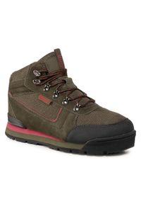 Big-Star - Sneakersy BIG STAR - GG174200 Khaki. Kolor: zielony. Materiał: zamsz, materiał, skóra. Szerokość cholewki: normalna