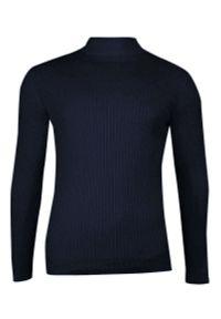 Niebieski sweter Brave Soul elegancki, na zimę