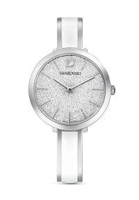 Biały zegarek Swarovski
