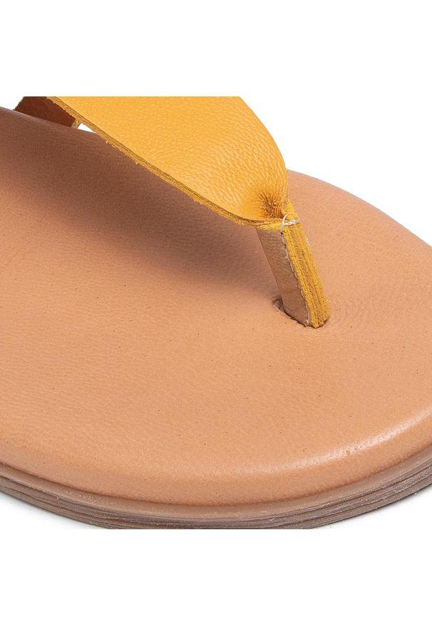 Brązowe sandały Marco Tozzi na co dzień, casualowe
