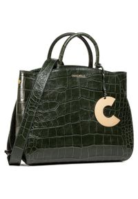 Zielona torebka klasyczna Coccinelle klasyczna
