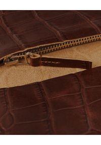 BALAGAN - Brązowy portfel DASH CROC. Kolor: brązowy