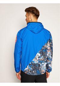 Niebieska kurtka do biegania New Balance