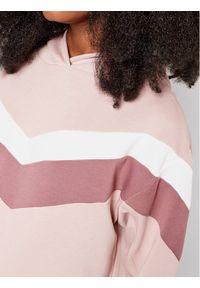 4f - 4F Bluza H4L21-BLD020 Różowy Regular Fit. Kolor: różowy